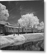 Ghost Town Train Metal Print