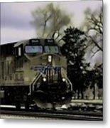 Ghost Train Metal Print