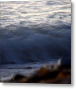 Ghost Wave Metal Print