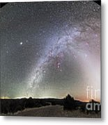 Ghostly Glows Of A Truly Dark Sky Metal Print