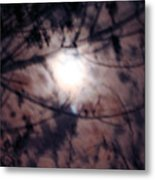 Ghostly Moon Metal Print