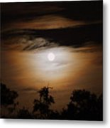 Ghosts Around The Moon Metal Print