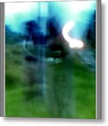 Ghosts By The Tracks  Metal Print