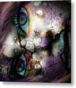 Ghoulish Metal Print by Brittany Perez