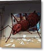 Giant Ant Metal Print