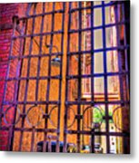 Giant Gate Metal Print