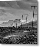 Giant Steps Are What You Take Metal Print