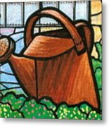 Giant Watering Can Staunton Landmark Metal Print