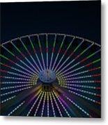Giant Wheel Ferris Wheel Metal Print