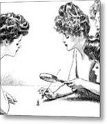 Gibson Girls 1904 Metal Print