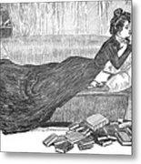 Gibson: Reader, 1900 Metal Print