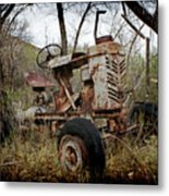 Gibson Tractor Metal Print