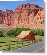 Gifford Homestead Barn - Capitol Reef National Park Metal Print