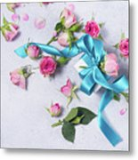 Gift And Flowers Metal Print