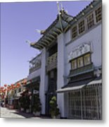 Gifts In Chinatown Metal Print
