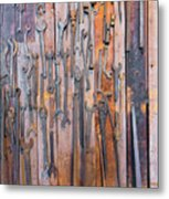 Gigantic Wrenches Metal Print