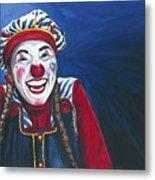 Giggles The Clown Metal Print