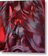 Gigi The Briard Metal Print