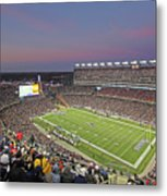 Gillette Stadium And New England Patriots Metal Print
