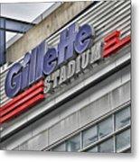 Gillette Stadium Sign Metal Print