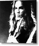 Gilmour #343 By Nixo Metal Print