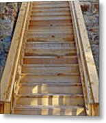 Gilpin County Museum Stairs Metal Print