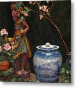 Ginger Jar Metal Print