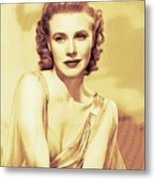 Ginger Rogers, Hollywood Legends Metal Print