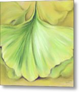 Ginkgo On The Cusp Of Autumn Metal Print