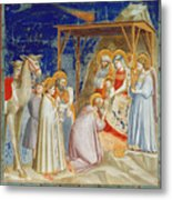 Giotto: Adoration Metal Print by Granger