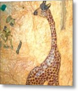 Giraffe   Sold  Metal Print