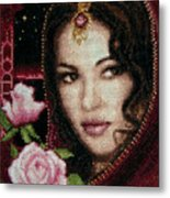 Girl From Alhambra Metal Print