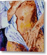 Girl Nude 4 Metal Print