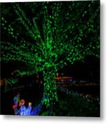 Girl Reaches For Apple 0861t Metal Print
