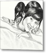 Gita Gutawa Young Singer From Indonesia Metal Print