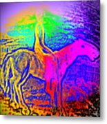 Life Is So Colorful When You Give Me A Ride  Metal Print
