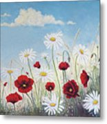 Give Me A Daisy Metal Print