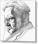 Gk Chesterton Metal Print