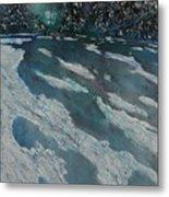 Glacial Moraine Metal Print