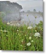 Glacial Park Pond Reflection Metal Print