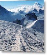 Glacier Blanche  Metal Print