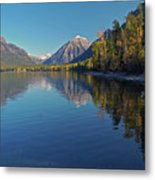 Glacier In September Metal Print
