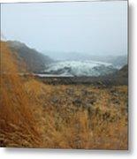 Glacier In The Distance Metal Print