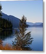 Glacier Lake Metal Print