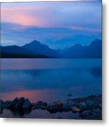 Glacier - Lake Mcdonald Dawn Metal Print