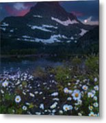 Glacier National Park At Dawn Metal Print