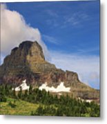 Glacier National Park At Logan Pass Metal Print