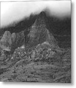 Glacier National Park Montana Horizontal Metal Print