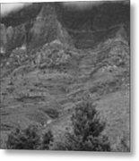 Glacier National Park Montana Vertical Metal Print