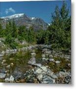 Glacier National Park-st Mary's River Metal Print
